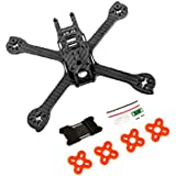 iFlight RACER iX5 200mm FPV Racing Quadcopter Frame Kit Carbon Fiber with Tail Light and Battery Pro