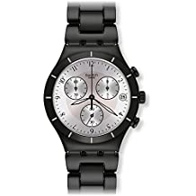 Swatch Men's Blackas YCB4026AG Alloy Wrist Watches