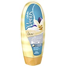 Gillette Venus with Olay Shower & Moisturizing Shave Cream, Vanilla Crème, 10 Ounce