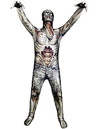 Kids Zombie Monster Costume - Medium 3'6-3'11/8-10 Years