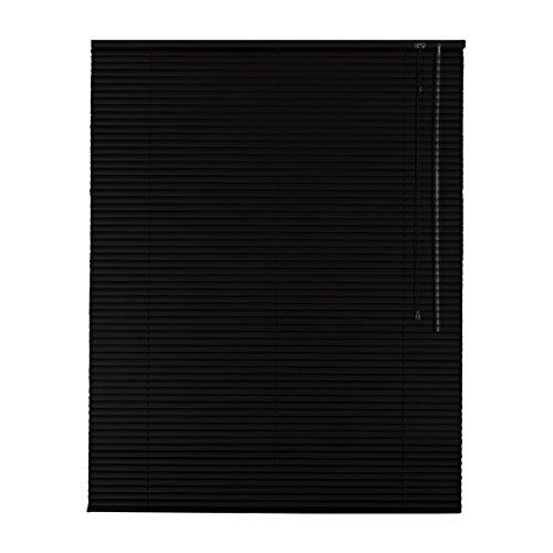 Sonnenschutz-HH Hochwertige Aluminium Jalousie Jalousette Rollo 200 x 240 cm   200x240 cm in Farbe schwarz - Bedienseite rechts    Fensterjalousie Fensterjalousette   Alulamellen Alu-Lamellen B00P2U5MRO Jalousien