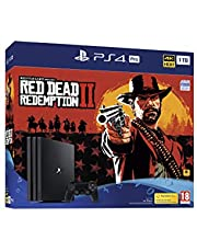 Playstation Ps4 Pro 1 to Red Dead Redemption 2 Bundle