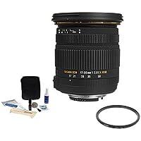 Sigma 17-50mm f2.8 EX DC OS HSM Lens f/Canon, USA, #583101. BUNDLE