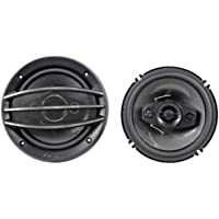Brand New Pioneer TS-A1684R 6.5 350 Watts Max Power (50 Watts Nominal) 4-Way Car Stereo Speakers with Heat Resistant Voice Coil
