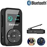 Eleston Compact & Portable Bluetooth MP3/MP4 Player Hifi Lossless Sound Quality Music Player with 1.8inch LCD Screen (Black)
