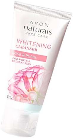 Avon Naturals Whitening Rose & Pearl Cleanser 50g (26450)