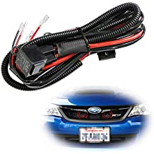 iJDMTOY (1) 12V Horn Wiring Harness Relay Kit For Car Truck Grille Mount Blast Tone Horns (Actual Horn Not Included)