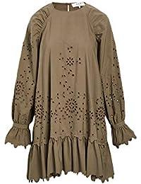 Women's Fern Eyelet Long Sleeve Tunic