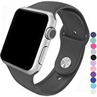 Piwjo Silicone Apple Watch Band and Replacement Iwatch Bands Series 1,Series 2,Series 3