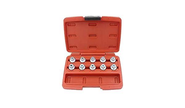 Color : 35 19 Teeth #23Teeth Anti-Theft Wheel Bolt Lock Nut Key Adapter RQBHD for 1 3 5 6 7 Series X1 X2 X3 X4 X5 X6#13Teeth