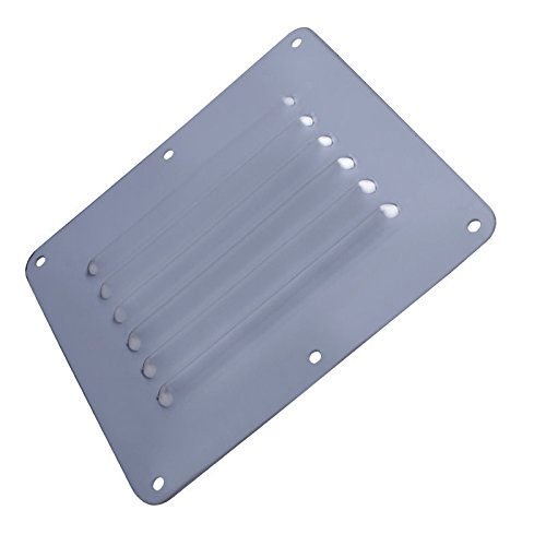 Prairie Metal Boat Stainless Steel Air Vent Louver Grill Cover Ventilation Louver Grille by Prairie Metal
