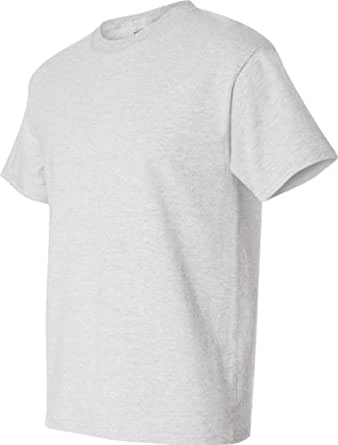 Hanes Beefy-T Adult Short-Sleeve T-Shirt (Ash, Small)