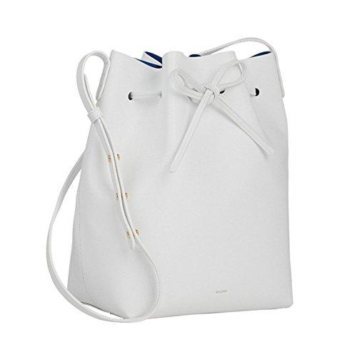 LifenewBaby - Bolso al hombro para hombre blanco Blanco S small Blanco S