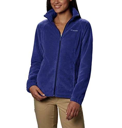 Columbia Women's Plus Size Benton Springs Full Zip Jacket, Dynasty, 1X (Best Spring Jackets Womens)