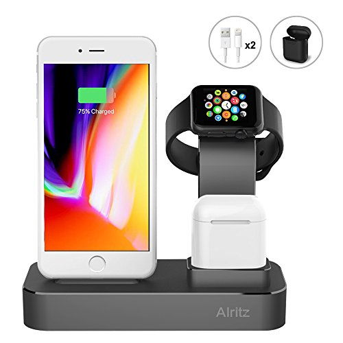 Charging Alritz Aluminum Desktop Station product image