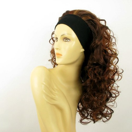 univers perruque Odessa 33h Long, Curly, Highlighted Woman's Wig In Light Blonde And Ginger And Copper (Long Ginger Wig)