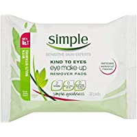 Simple Kind To Skin Eye Make-up Remover Wipes, 30 Wipes