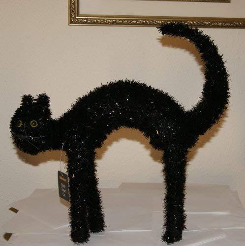 Youngcraft Tinsel Cat Indoor/Outdoor Black 16