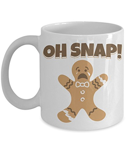 Gingerbread Christmas Coffee Mug Oh Snap Gingerbread for sale  Delivered anywhere in USA