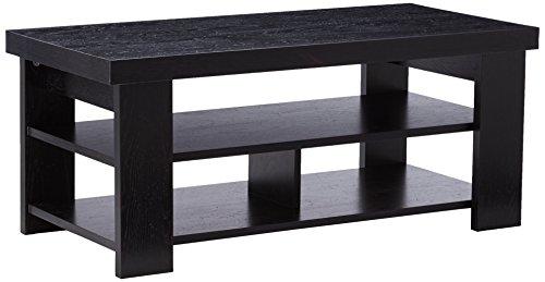 black oak coffee table - 3