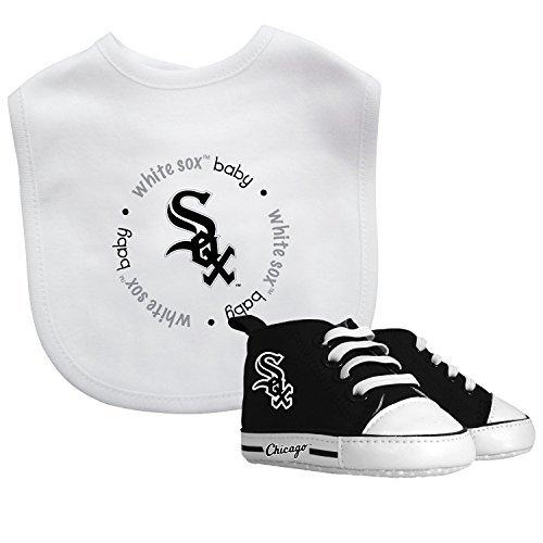 - Baby Fanatic MLB Chicago White Sox Unisex CWS30002Bib & Prewalker Gift Set - Chicago White Sox, See Description, See Description