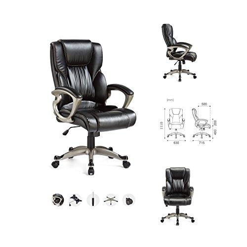 yamasoro-ergonomic-high-back-black-executive-pu-leather-office-chair-hydraulic-swivel