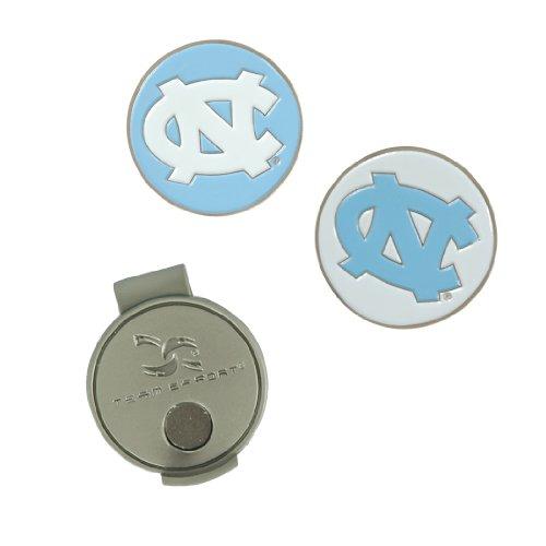 North Carolina Tar Heels Hat Clip and Ball Markers (Heels Golf North Tar Ball Carolina)