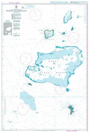 BA Chart 3: Indian Ocean, British Indian Ocean Territory, Chagos Archipelago