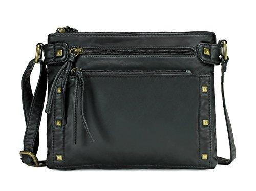Scarleton Trendy Studded Accent Crossbody Bag H1970