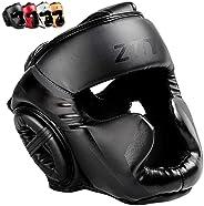 ZHENGTU Boxing Headguard MMA Training Protection Muay Thai Kickboxing Training Martial Arts