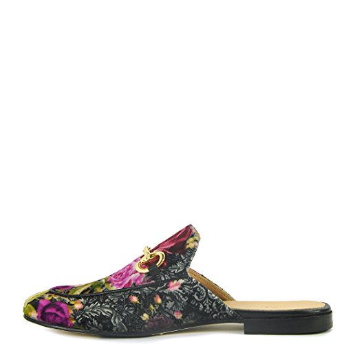 275 Central - 784 - Floral Printed Mule, Pink 38 Medium by 275 Central (Image #1)