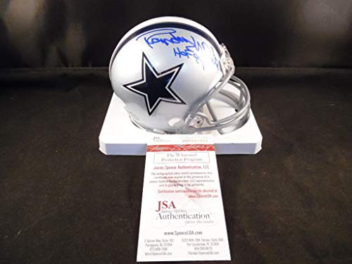 Randy White Autographed Signed Autograph Mini Helmet Dallas Cowboys JSA Authentic Certified