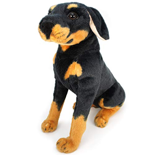 VIAHART Rodolf The Rottweiler | 15 Inch Large Dog Stuffed Animal Plush | by Tiger Tale Toys (Best Toys For Rottweiler Puppies)