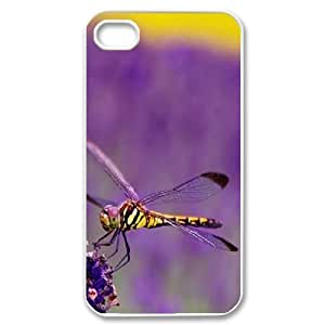 Beautiful Dragonfly Customized Cover Case for Iphone 4,4S,custom phone case ygtg-309817