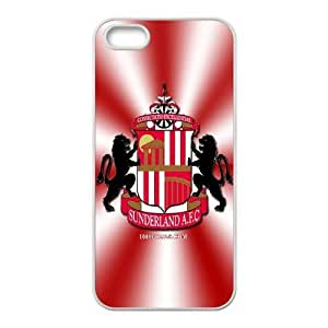 iphone5 5s phone case White for sunderland png - EERT3406639