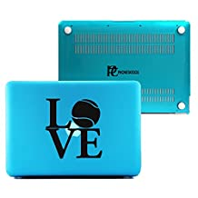 PhoneTatoos -Love Tennis / Transparent Plastic Hard Case Cover for Macbook Pro 13'' (Model: A1278)