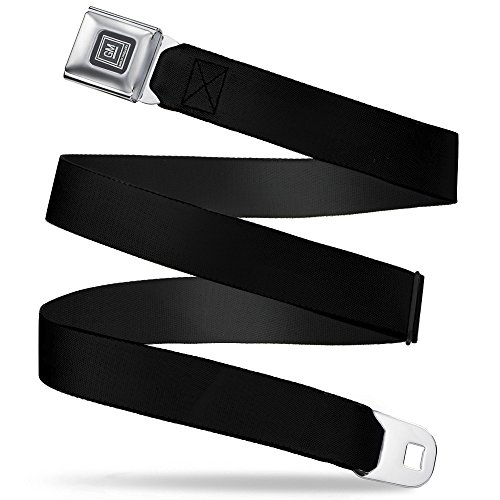 Buckle-Down Seatbelt Belt - Black - 1.5