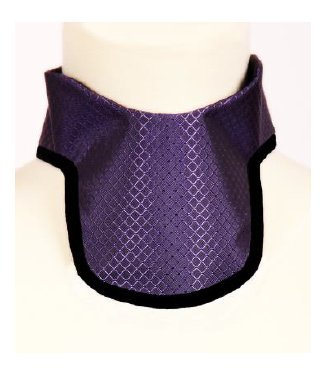 USA XRAY Soft Thyroid Shield, Radiation, X-Ray Protection in Diamond Navy by USA XRAY