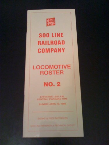 (Soo Line Railroad Company Locomotive Roster No. 2)