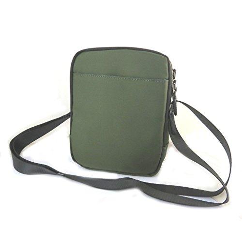 vert N6566 cm compartiments bandoulière noir 'Indispensable' Davidt's 2 Sac 21x17x7 FpXOqO4