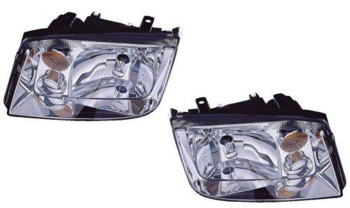 02 Vw Volkswagen Jetta Headlight - 1