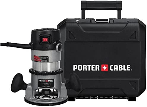 PORTER-CABLE 9690LR 11 Amp 1-3 4-Horsepower Fixed Base Router with 1 4-Inch and 1 2-Inch Collets