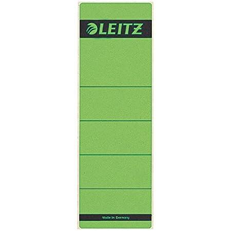 Leitz 16420015 Etichetta per Raccoglitore Giallo