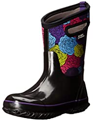 Bogs Muck Boots Girls Kids Classic Rosey Pull On Waterproof 71993