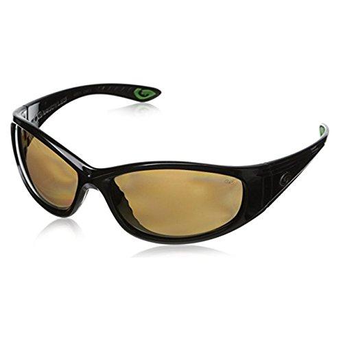Gargoyles Men's Shakedown 10700058.QTM Polarized Wrap Sunglasses,Black,32 - Sunglasses Gargoyle Polarized