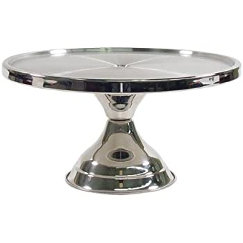 Clear 12-Inch Winco CKS-13C Round Acrylic Cake Stand Cover