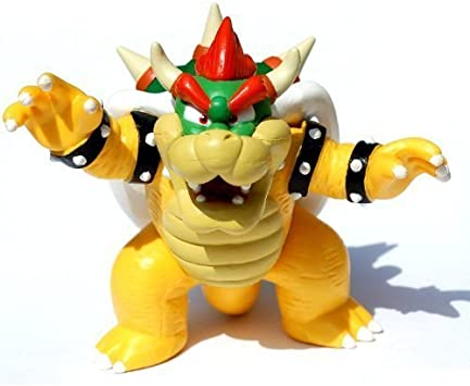 Nintendo Super Mario Exclusive Deluxe Bowser Figure / Limited ...