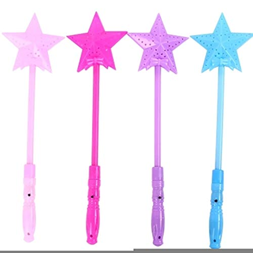 geSlnsXhil LED Glow Stick, Magic Luminous Star LED Glow Stick Flashing Light Up Wand Party Concert Toy Random Color -