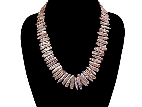 Knotted Pink Pearl - 6
