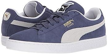 Puma Suede Classic Sneaker, Blue Indigo White, 9.5 M Us 5